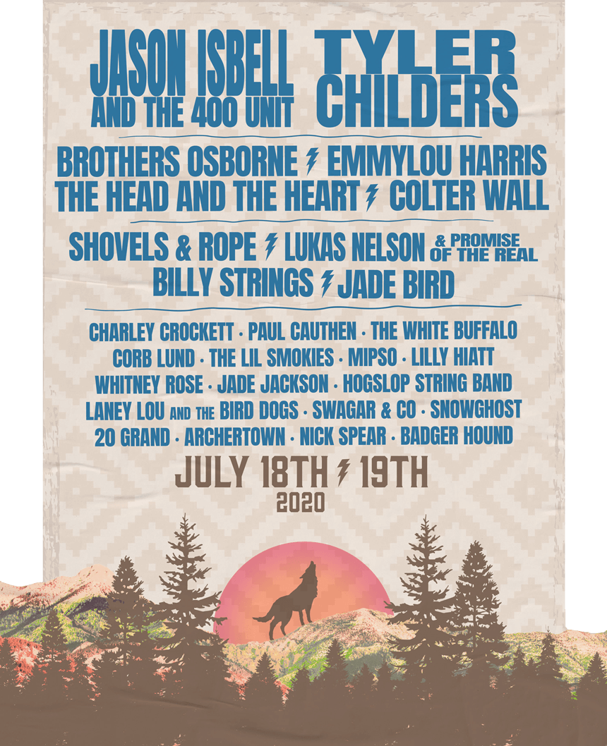 Mountain Home Music Festival 2020.Under The Big Sky